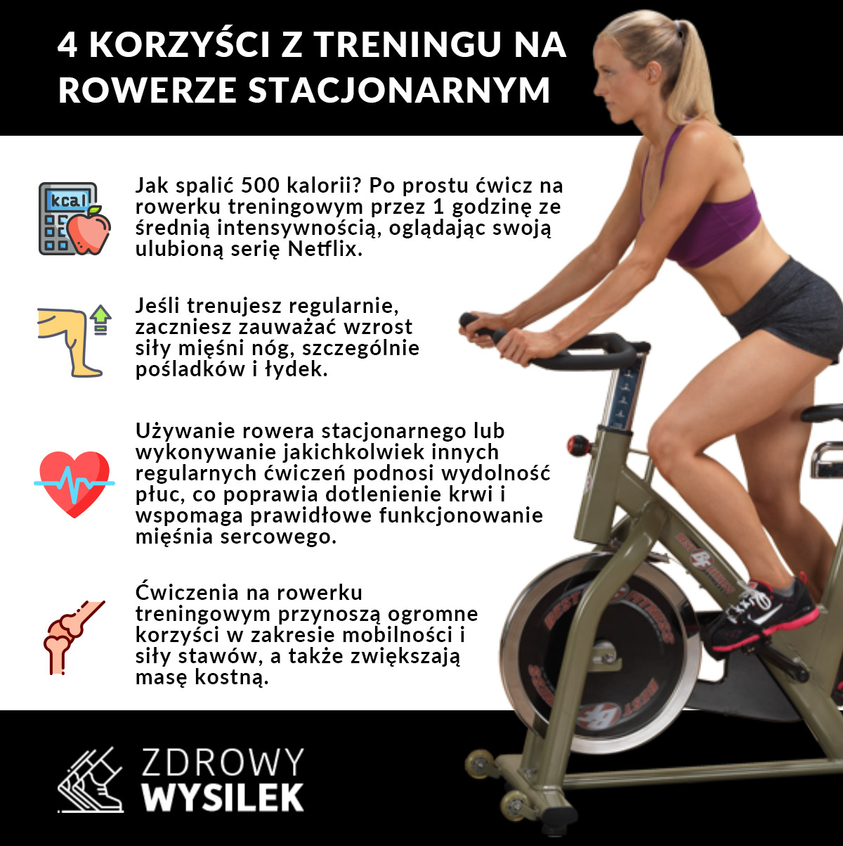 Zawała: Czy rower jest dobry na brzuch?